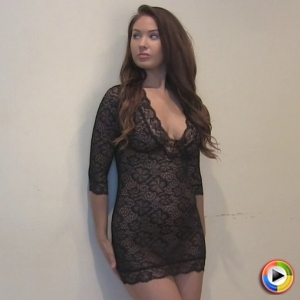Alluring vixens: watch as curvy alluring vixen ashlie madison teases in her lascivious skin tight lace lingerie.