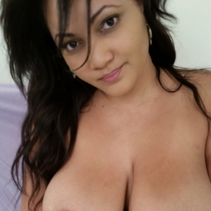 Share my gf: chubby beautiful girlfriend shows off her huge natural tits as she gets topless for her boyfriend.
