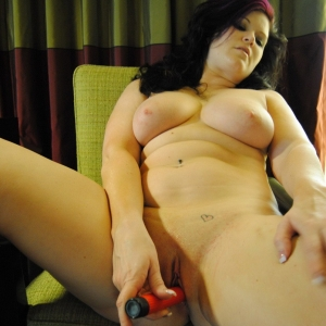 Chubby ex gfs: chubby girlfriend strips naked and plays with a dildo for her boyfriend.