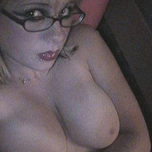 Chubby ex gfs: chubby emo ex-girlfriend shows off her considerable juicy all natural tits.
