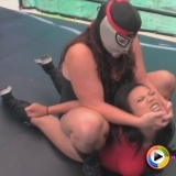 Watch as the helpless Azia takes on the force known as Crusher only to get squashed