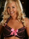 Alluring Vixen Aaliyah Love shows off her pretty pink bows