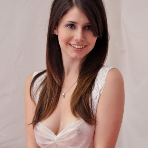 Hailey\'s hideaway: haileys voluminous perfect natural tits are showing through her libidinous sheer dress.