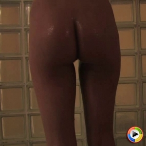 Devine ones: watch as the skinny blonde devine one brittany lynn is in the shower with soap running over her perfect round analy.