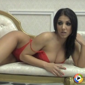 Alluring Vixens: Watch as the stunning Alluring Vixen babe Maria Leanna teases in a skimpy little red outfit