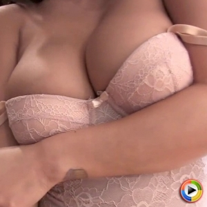 Club justene jaro: watch as exotic babe justene jaro shows off her perfect curves in a pink lace body suit that barely contains her considerable juicy breasts.